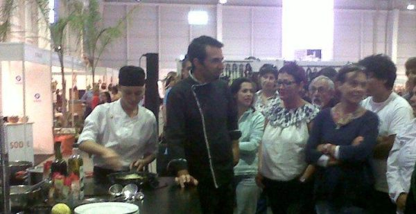 Show-cooking na Agrovouga