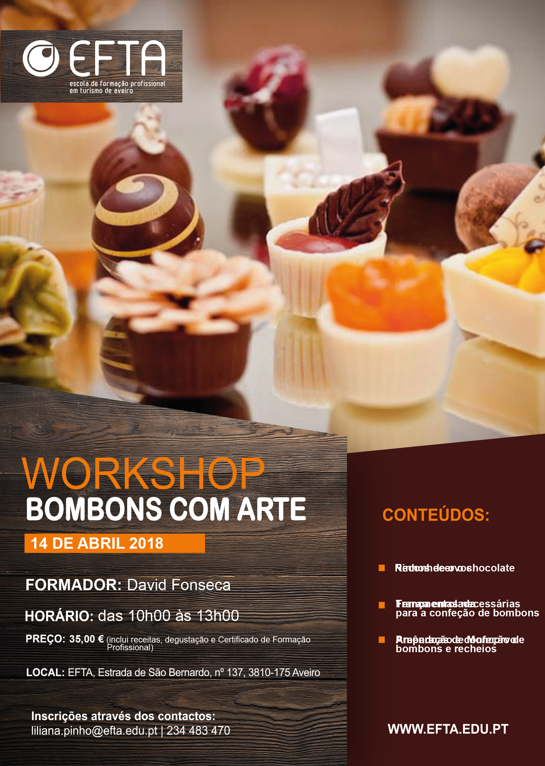 WORKSHOP | Bombons com Arte
