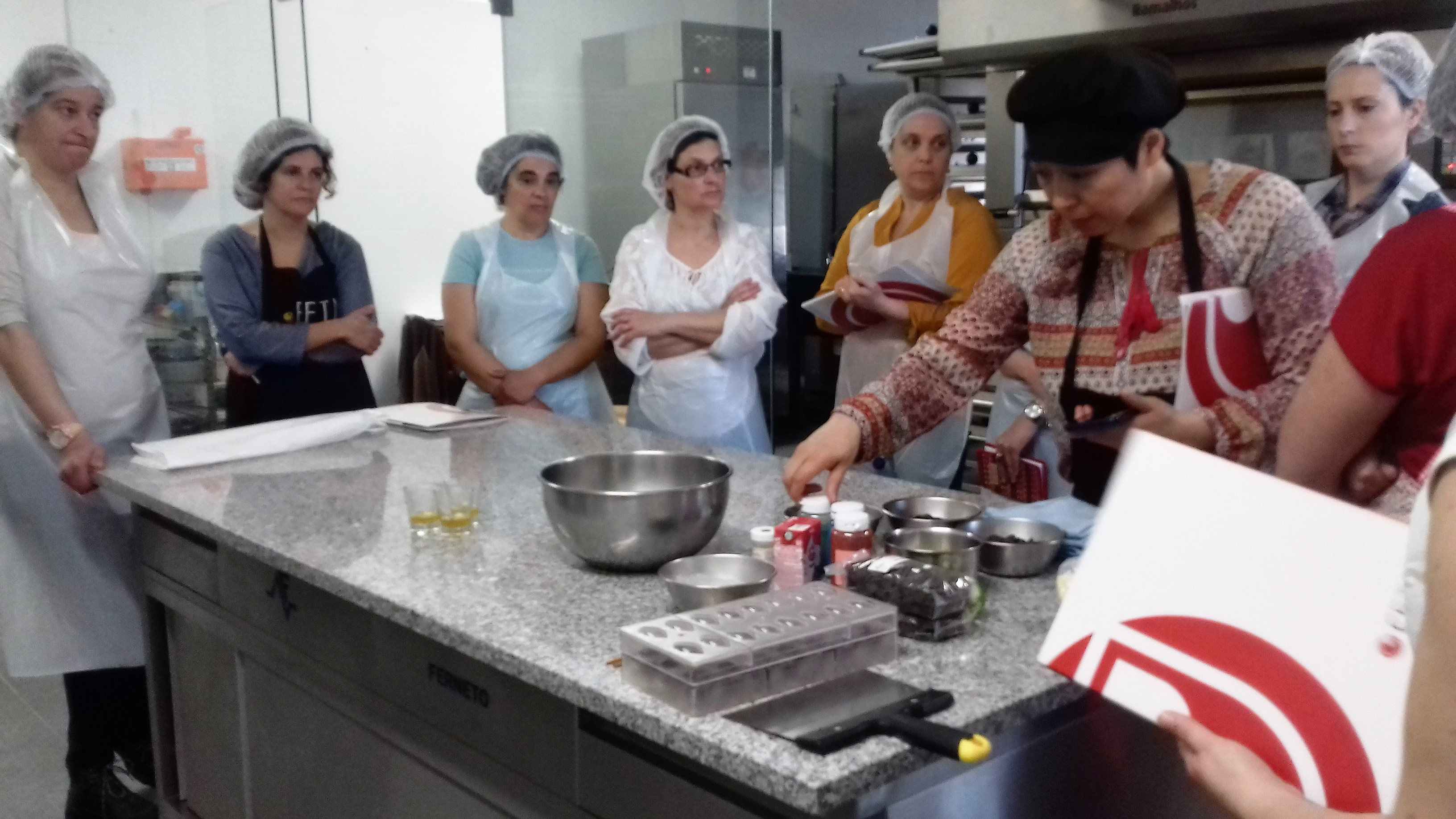 Workshop de Bombons com Arte